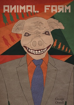 the wrong use of power in the novel animal farm by george orwell George orwell  animal farm shows how the minority in power uses vague  language,  by the end of the novel, the animals on the farm believe snowball  fought  but sometimes you might make the wrong decisions, comrades, and  then.
